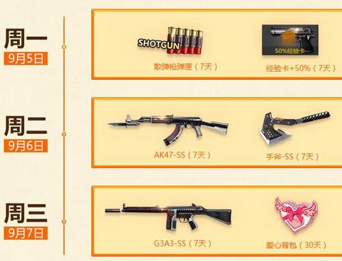 AK47-SS(7天)  手斧-SS(7天)