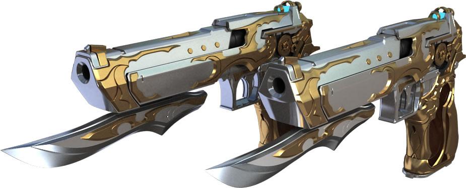 CF英雄级手枪:沙鹰-天神