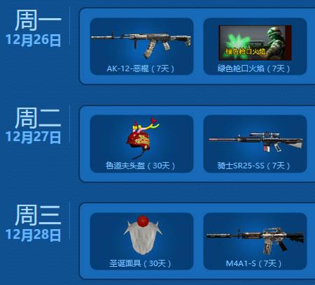 AK-12-恶棍、圣诞面具
