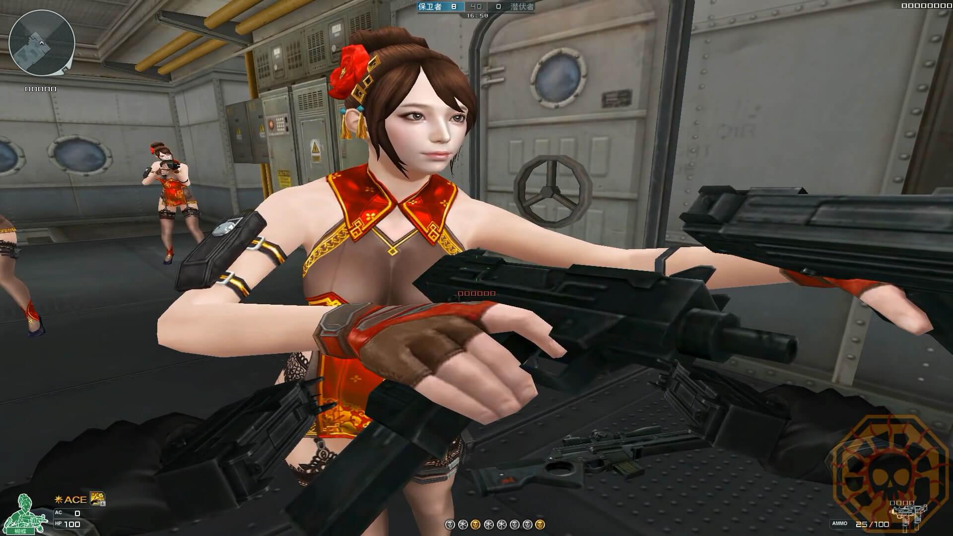 CF新英雄级角色蝴蝶视频图片