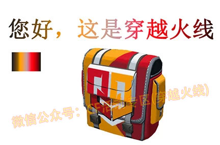 CF Q9战队炫彩背包效果图